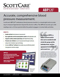 ScottCare ABP320 for Accurate, Comprehensive Blood Pressure Management