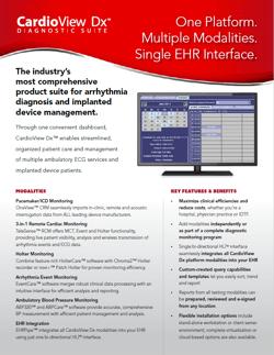 One Platform. Multiple Modalities. Single EHR Interface.