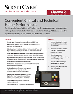 Chroma2 Holter Monitor
