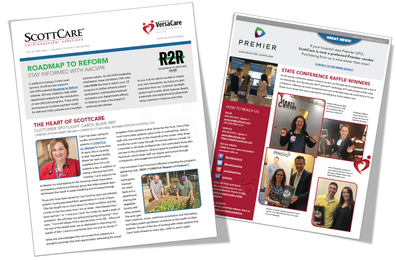 ScottCare Newsletter for Rehab Customers & Friends
