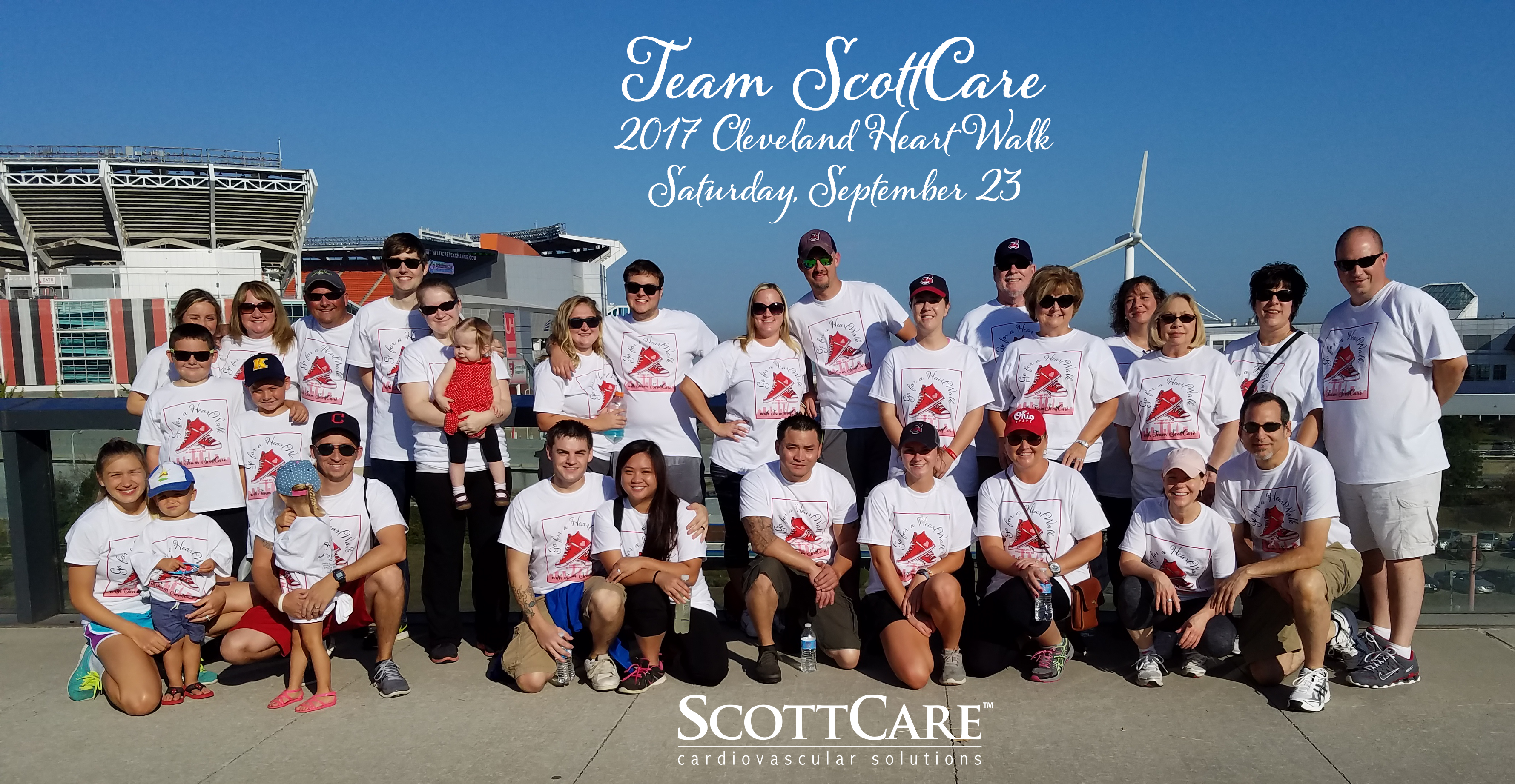 Team ScottCare, Cleveland Heart Walk, 2017