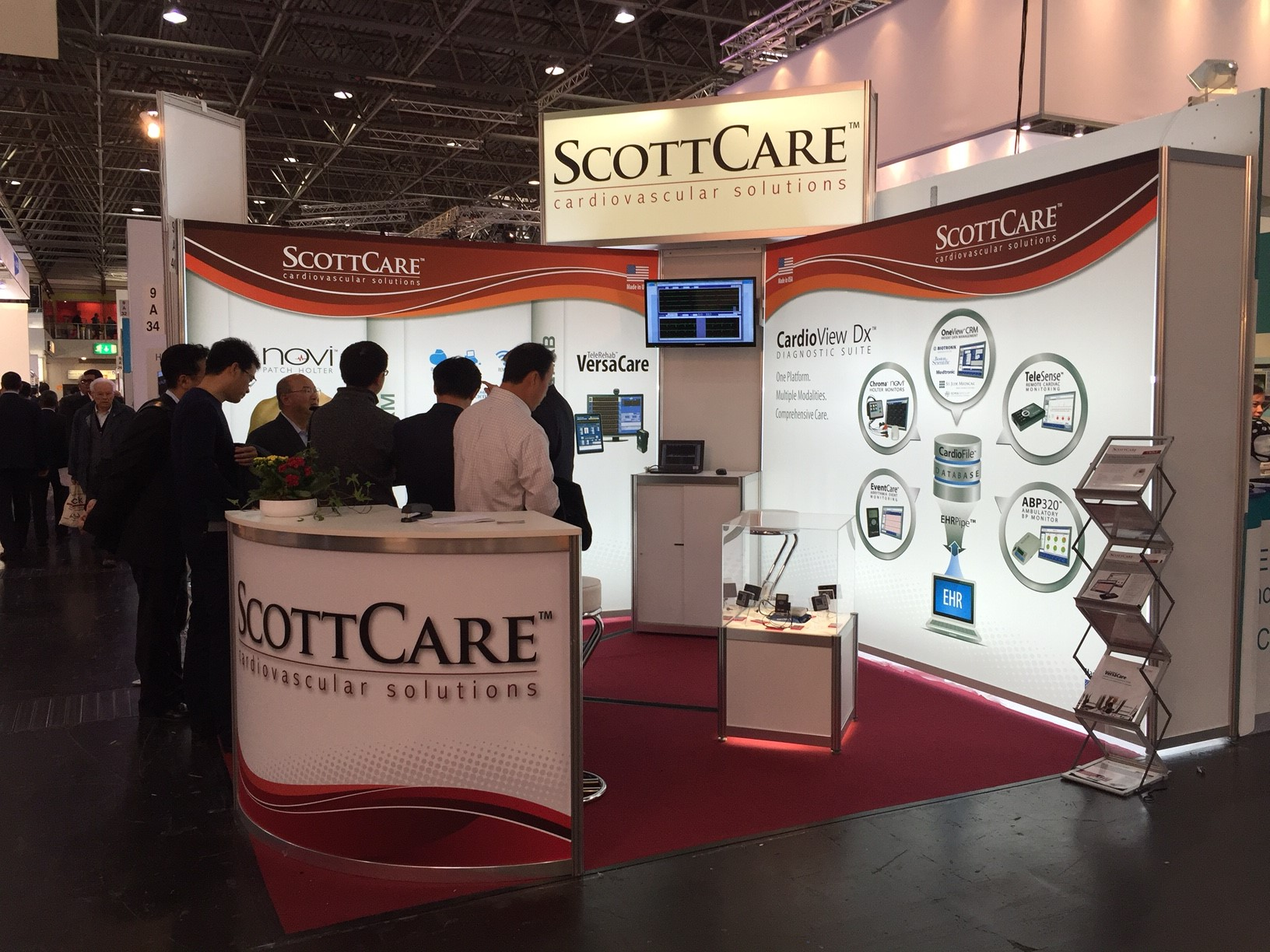 ScottCare exhibits at tradeshows all around the world--and close to your hometown.
