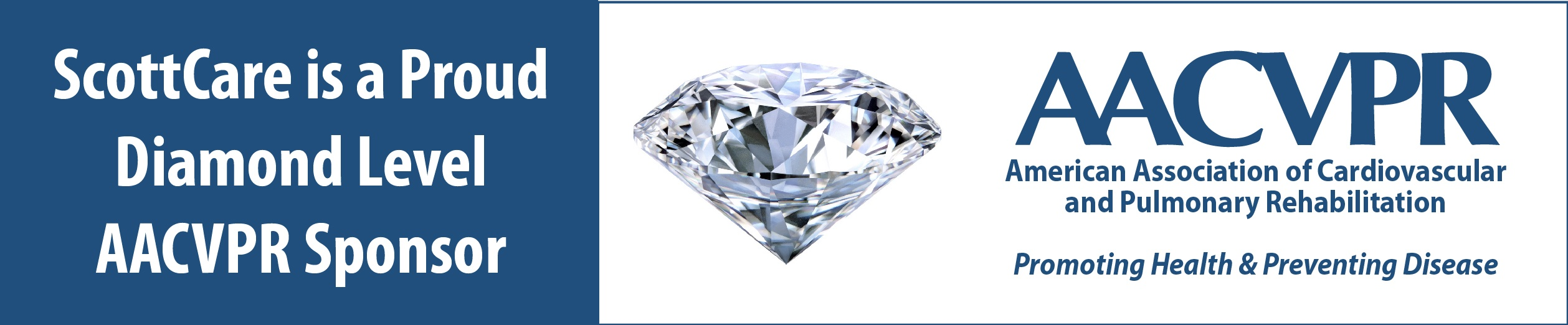 ScottCare is a Proud Diamond Level Supporter of AACVPR