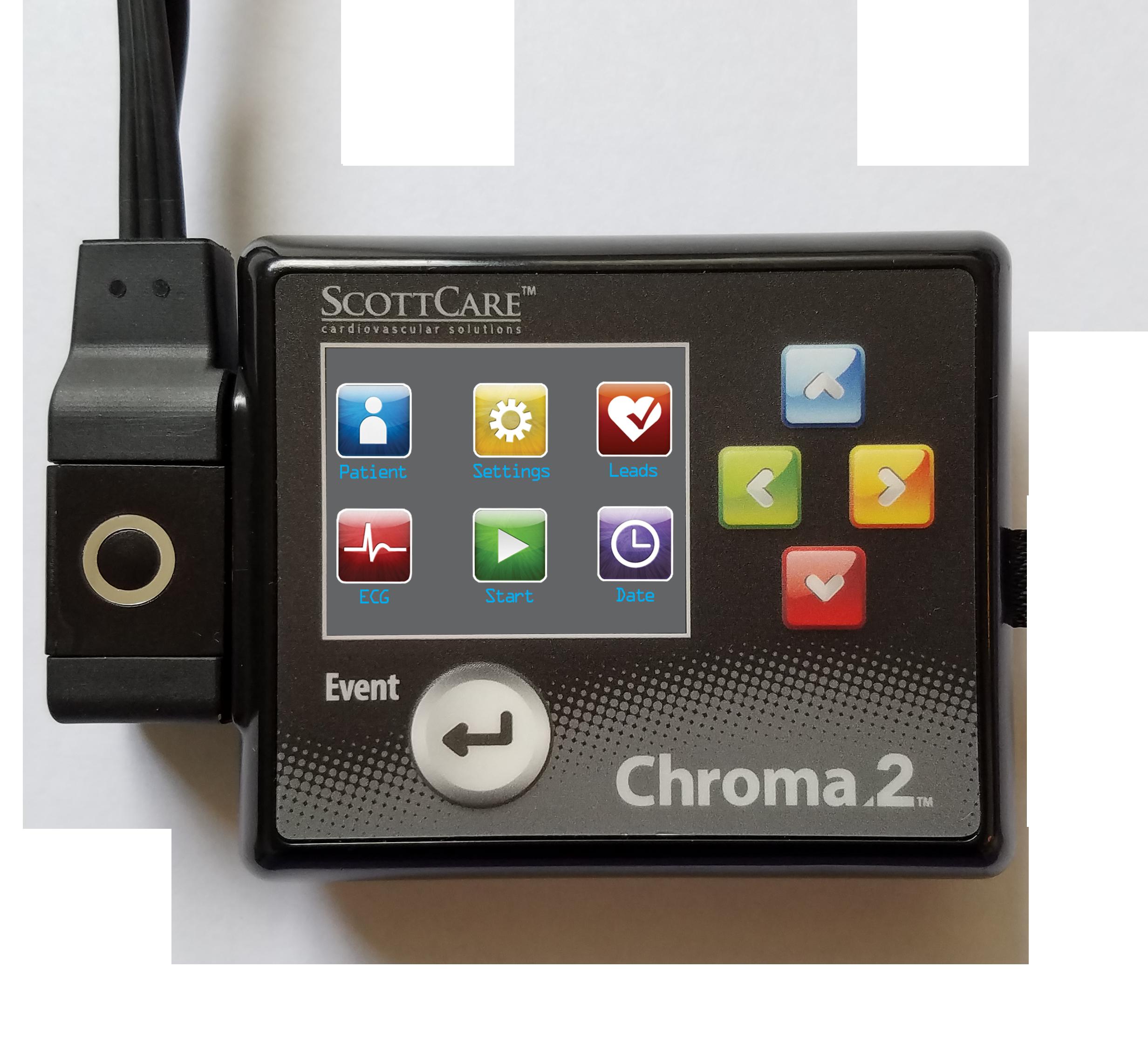 Chroma2 Holter Monitor