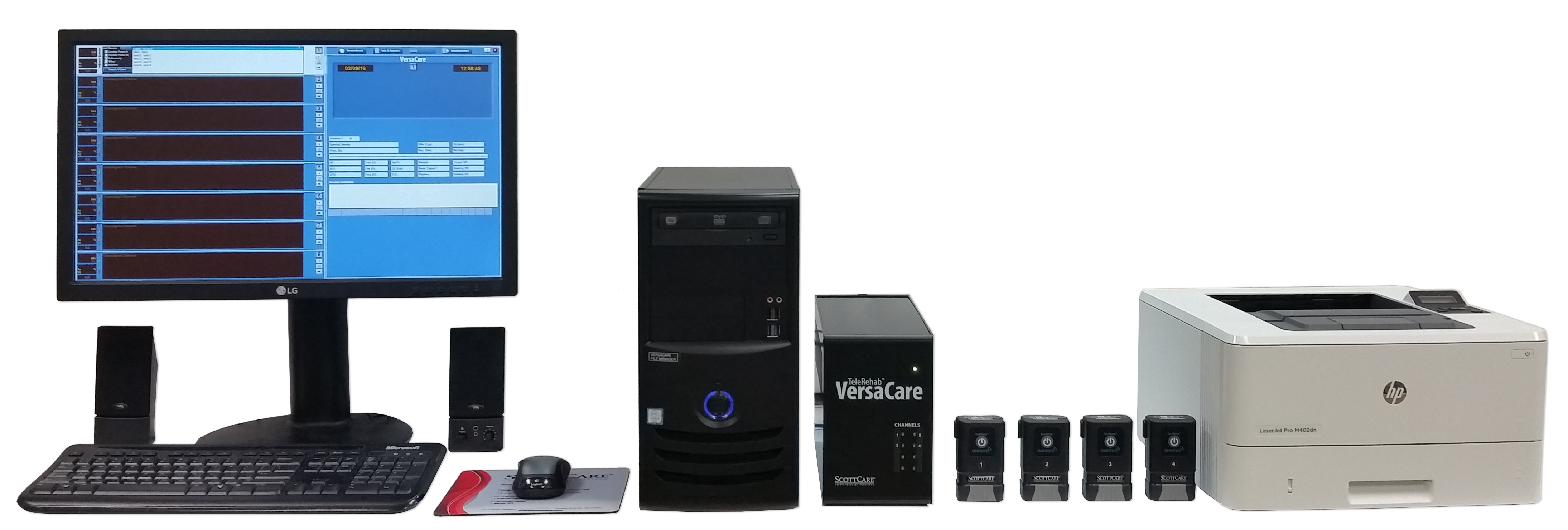 VersaCare: Complete Cardiac Rehab Telemetry Solution