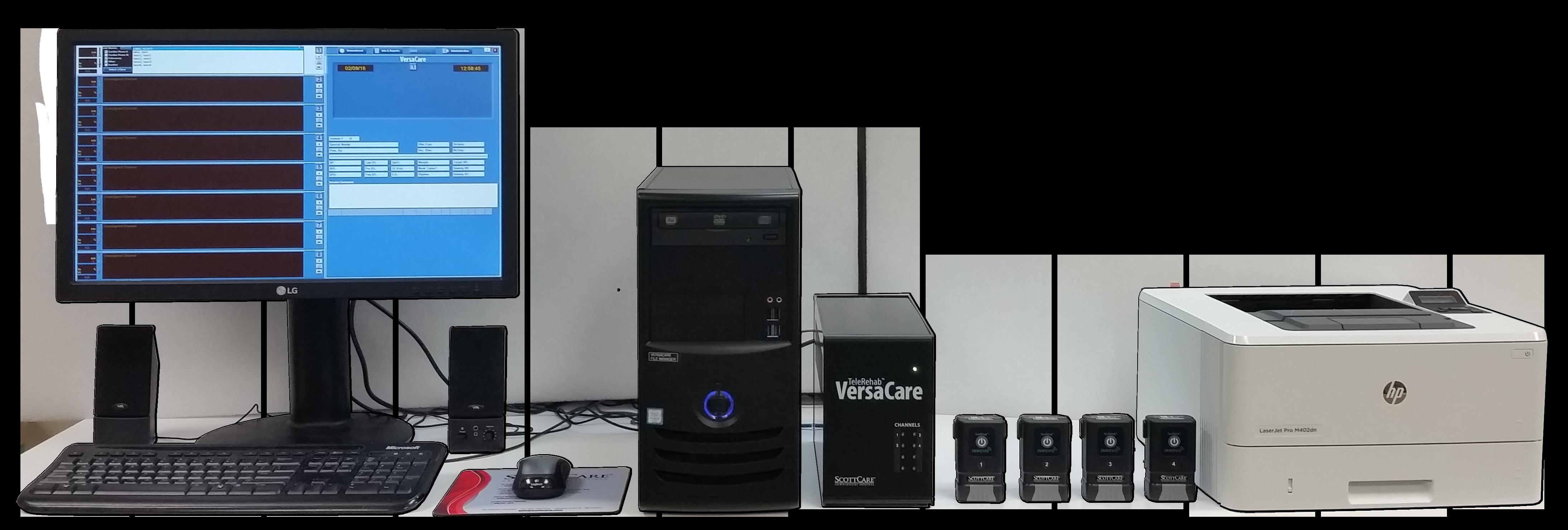VersaCare Cardiac Rehab Telemetry
