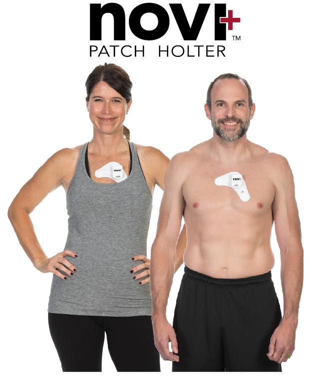 novi+ Patch Holter